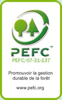 Hublet - Europese specialist in 27 mn met eiken randen - FSC, PEFC