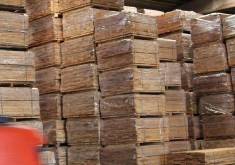 Hublet -  Europese specialist in 27 mn met eiken randen - fournisseur bois de chene